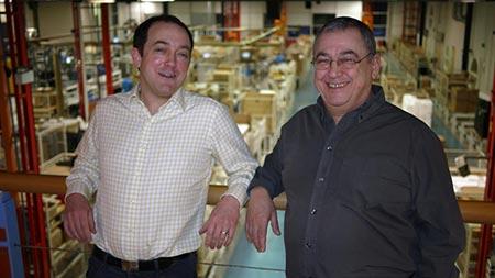 Ivor en Gilad Tiefenbrun